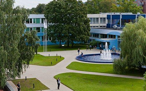 Turiba University in Riga, Lettland